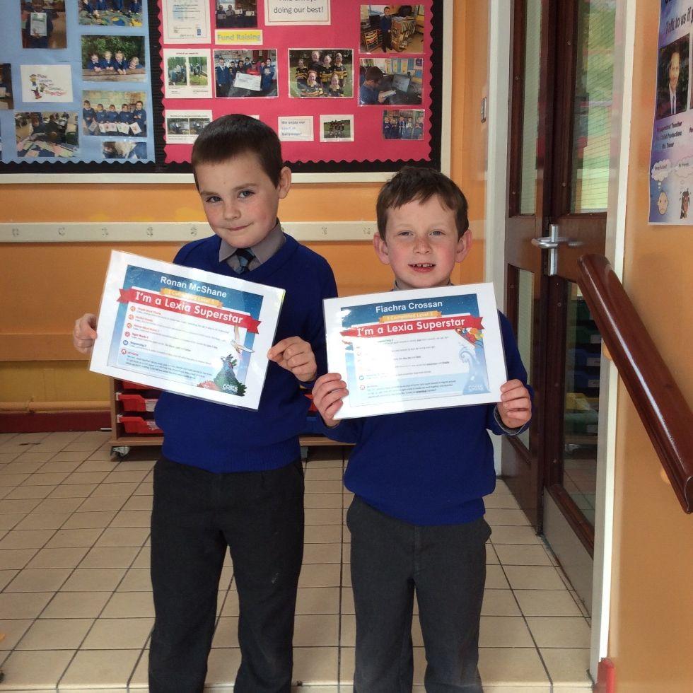 Lexia Certificates