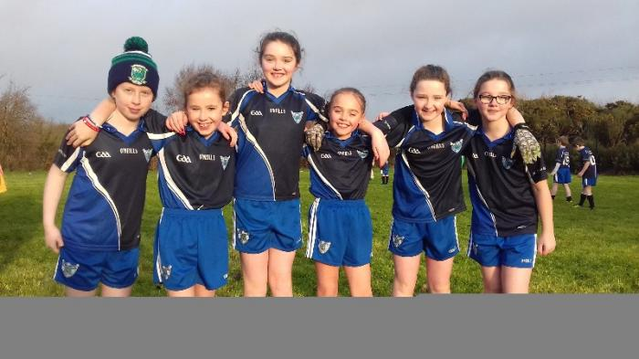 St Malachy's Girls at Mullaghglass Blitz